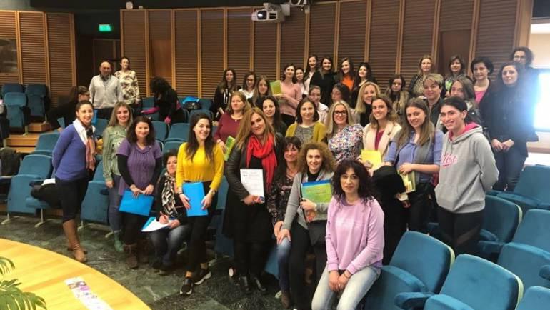 Tεχνικές Φιλαναγνωσίας και Δημιουργικής Γραφής στο Ανοιχτό Ίδρυμα Εκπαίδευσης στη Θεσσαλονίκη