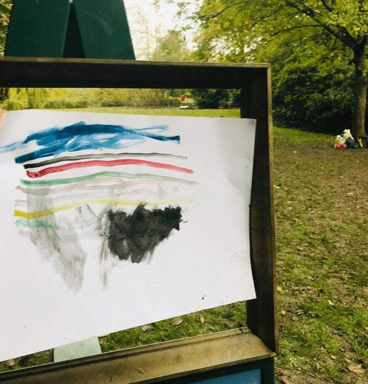 Οι Παραμυθοκάρτες στολίζουν τους Κήπους της Βασίλισσας της Αγγλίας