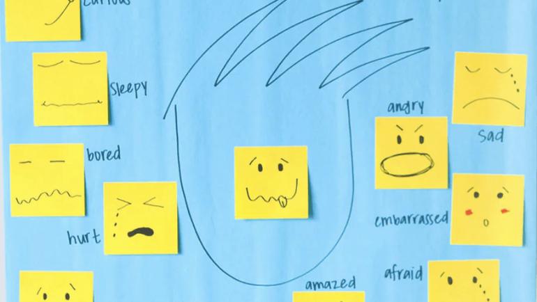 Βοηθώντας τα παιδιά να εκφράζουν τα συναισθήματά τους